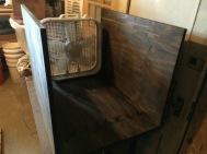 Drying unit built